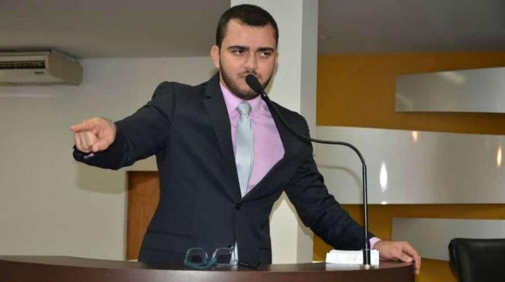 Leo Barbosa foi eleito para o primeiro mandato como deputado — Foto: Divulgação/Câmara de Palmas
