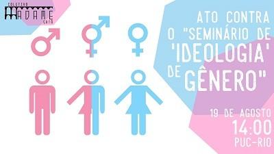 Ato contra seminário sobre ideologia de gênero