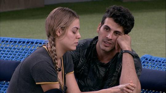 Maycon se despede de Isabella: 'Amanhã você não me tem aqui mais'