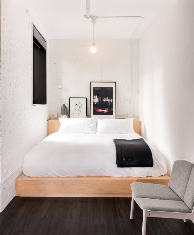 A decoração é aconchegante para que os hóspedes sintam-se em um casa canadense (Foto: The Annex Hotel/ Reprodução)
