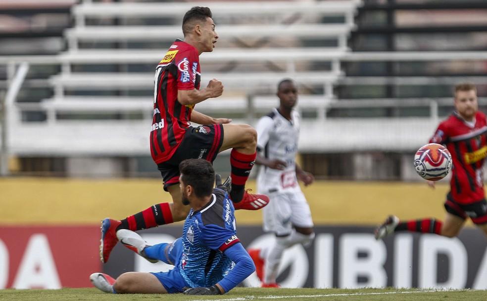 Martinelli marcou seis gols pelo Ituano e é o vice-artilheiro do Paulistão — Foto: Miguel Schincariol/Ituano FC