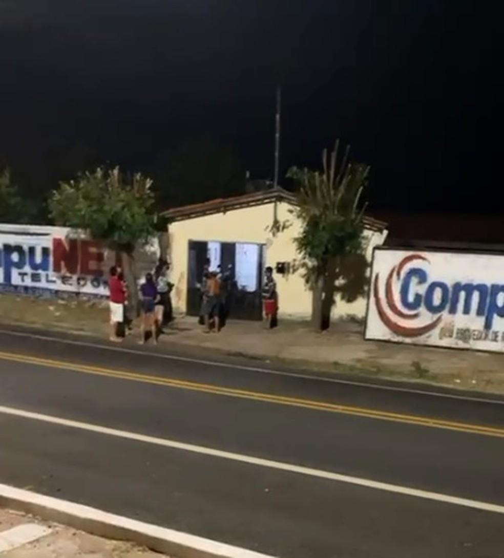 Mulher é assassinada dentro de casa com tiro de espingarda e marido é preso, em Campo Maior — Foto: Polícia Civil