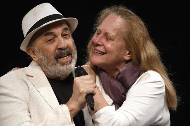 Cláudio Tovar e Lucinha Lins (Foto: Cristina Granato)