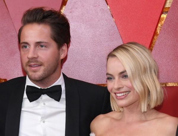 A atriz Margot Robbie e o marido, o produtor de cinema Tom Ackerley (Foto: Getty Images)
