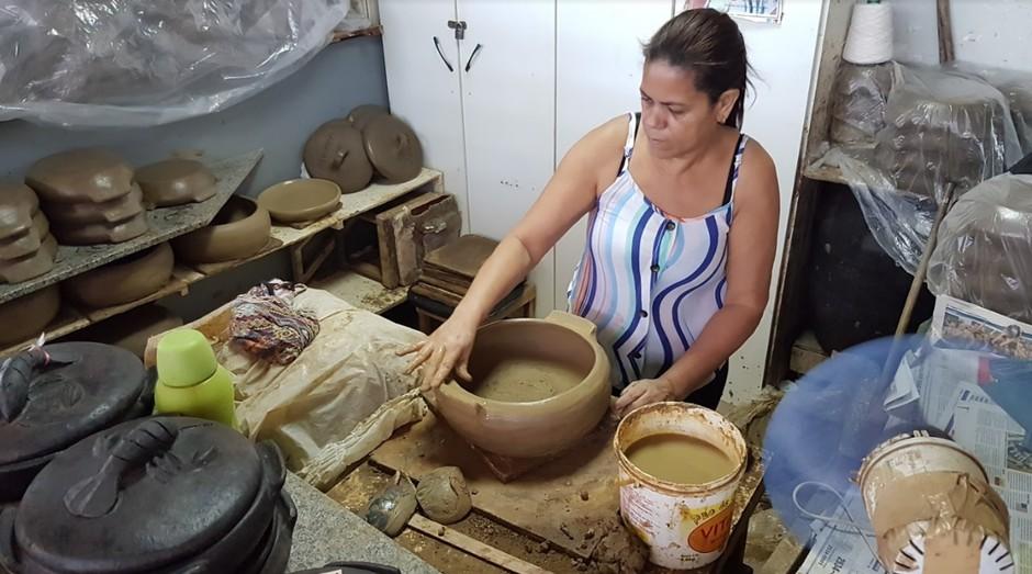Paneleiras de Goiabeiras, no Espirito Santo (Foto: Divulgação ASN)