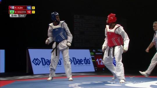 Maicon Andrade garante o bronze no Mundial de Taekwondo em Manchester