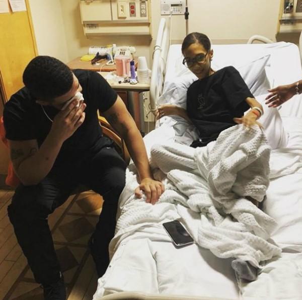 Drake e sua fã que faleceu (Foto: Reprodução Instagram)