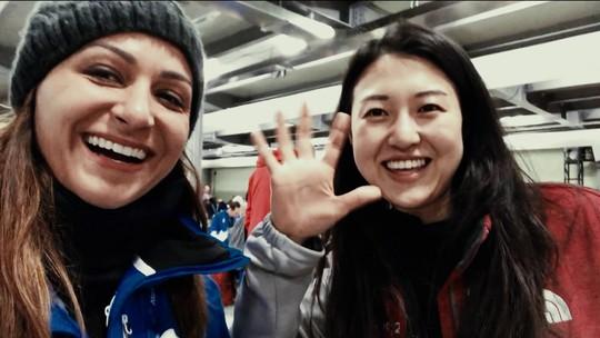 Vida de Correspondente: Marina Izidro mostra bastidores do trabalho em PyeongChang