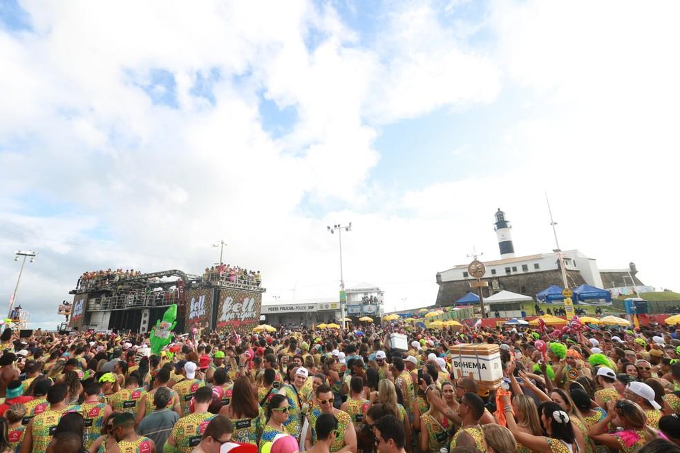Carnaval 2020 em Salvador — Foto: Mauro Zaniboni /Ag Haack