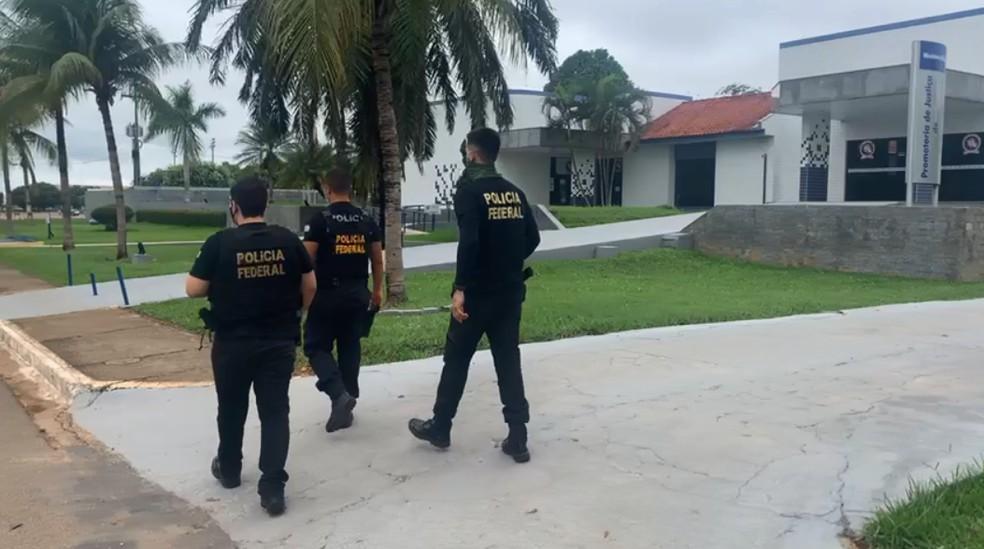 Segunda fase da Operação Quinto em Rondônia — Foto: PF/Divulgação