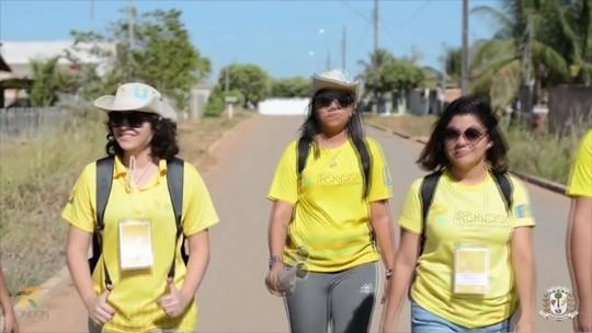 Estudantes de Colatina, ES, participam do Projeto Rondon no MT