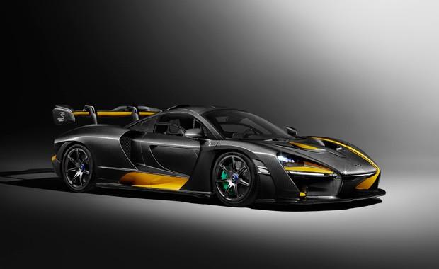 McLaren Senna Carbon Theme-é feito pela divisão MSO (Foto: Divulgação)