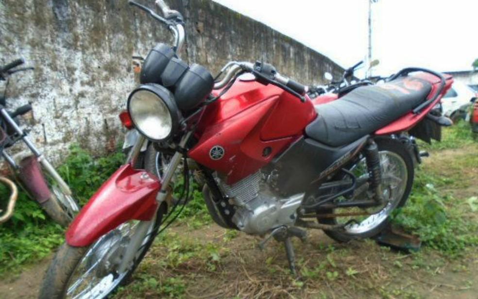 Motos também estão disponíveis para serem leiloadas (Foto: Divulgação/Assessoria)