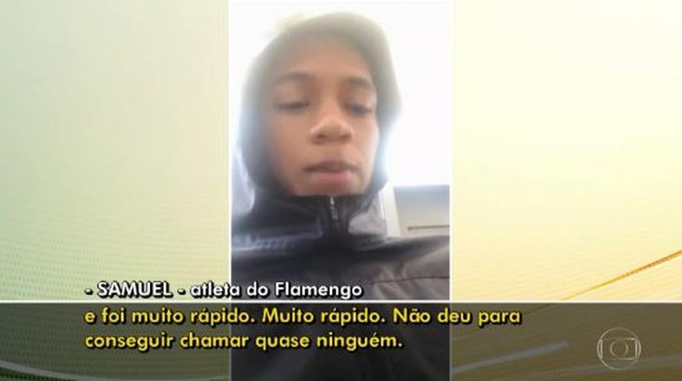 Peritos identificam possibilidade de curto-circuito em ar-condicionado de alojamento no CT do Flamengo
