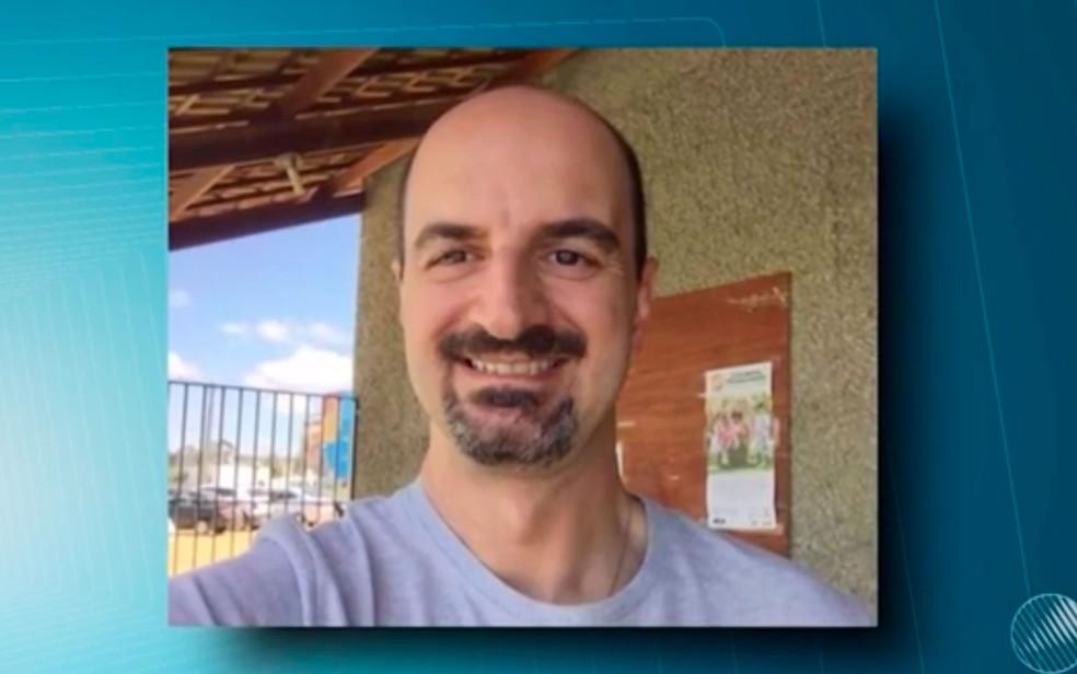 George Cardoso Couto está desaparecido em Vitória da Conquista (Foto: Reprodução/TV Sudoeste)