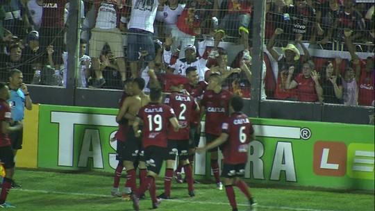 Os gols de Brasil de Pelotas 3 x 2 Criciúma pela série B do Campeonato Brasileiro