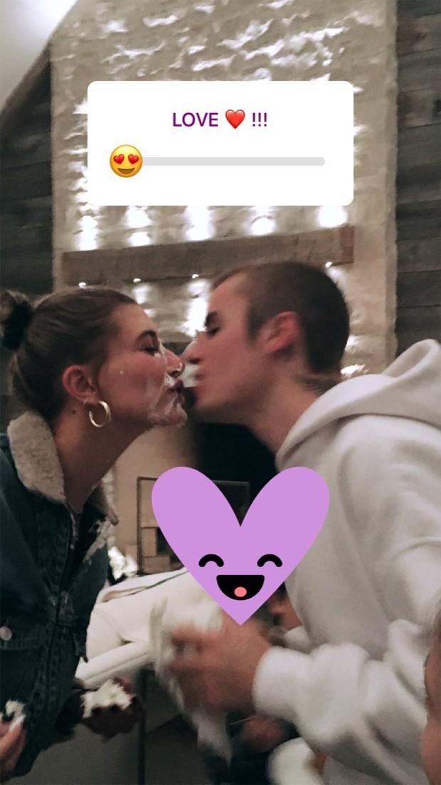 Justin Bieber e Hailey Baldwin (Foto: Reprodução / Instagram)
