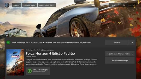 Forza Horizon 4 | Jogos | Download | TechTudo