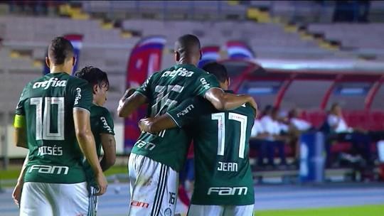 Os gols de Independiente Medellín 0 x 2 Palmeiras em amistoso