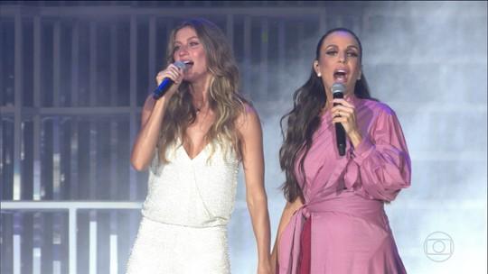 Rock in Rio 2017 começa com Gisele Bündchen e Ivete Sangalo grávida