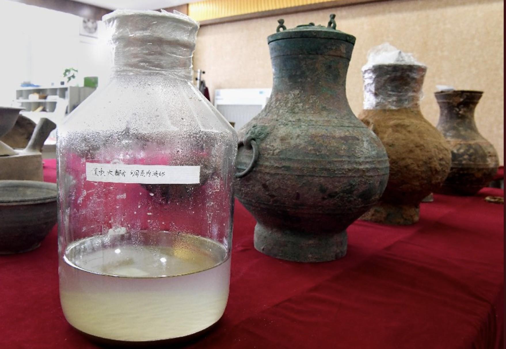 """""""Elixir da imortalidade"""" é encontrado em tumba chinesa (Foto: Reprodução/ Twitter)"""