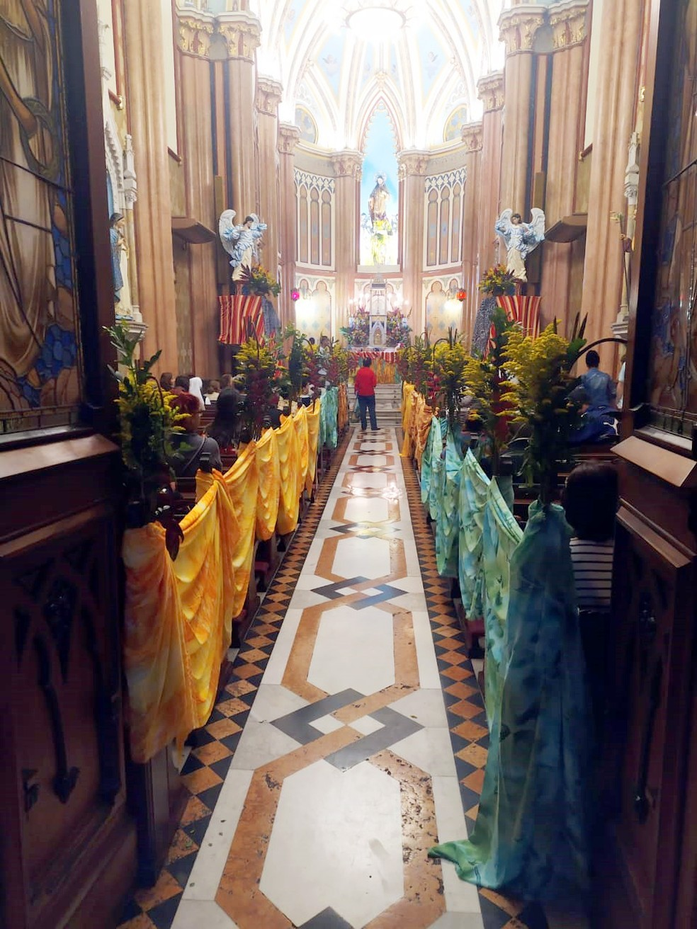 Igreja do Sagrado Coração de Jesus, na Glória — Foto: Arquivo pessoal