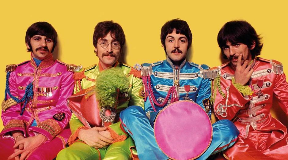 Os Beatles criaram diversas canções no retiro do Maharishi Mahesh Yogi (Foto: Reprodução/Facebook/The Beatles)