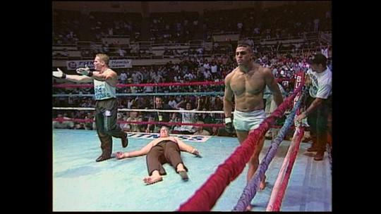 Cinco curiosidades sobre a primeira luta da carreira de Vitor Belfort