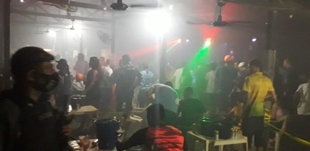 Fiscalização em Macapá intima 7 bares e boates por aglomerações e colaboradores sem EPIs