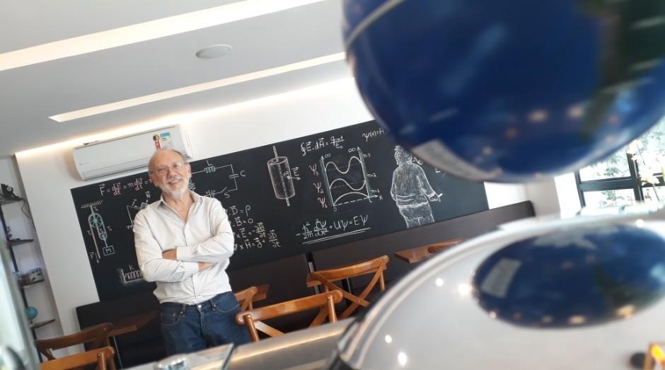 Álvaro Vanucci dono do Physics Café (Foto: Divulgação)