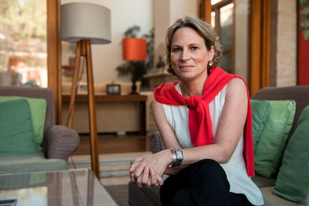 Stephanie Habrich cresceu em São Paulo e foi atuar no mercado financeiro em um escritório no World Trade Center, em Nova Iorque. Ela estava trabalhava no momento em que o primeiro avião atingiu as Torres Gêmeas, no dia 11 de setembro de 2001 (Foto: Marcelo Brandt/G1)