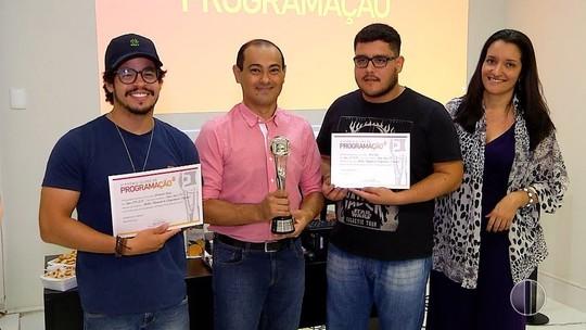 Inter TV Cabugi recebe certificado do prêmio de melhor chamada de programação regional - G1 Rio Grande do Norte