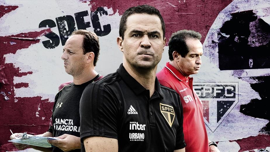 Crise da prancheta? São Paulo tem nove técnicos diferentes desde a saída de Muricy em 2015