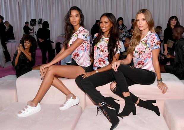 Lais Ribeiro, Jasmine Tookes e Josephine Skriver (Foto: Getty Images)