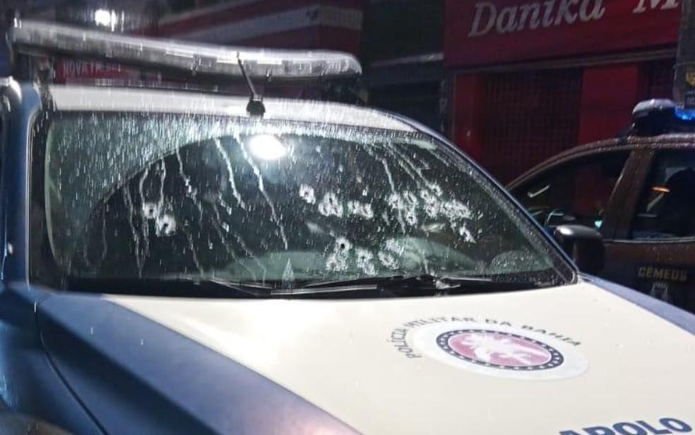Homem morre durante operação da PM em bairro de Salvador; policiais relatam que foram recebidos a tiros no local — Foto: Reprodução/Redes Sociais