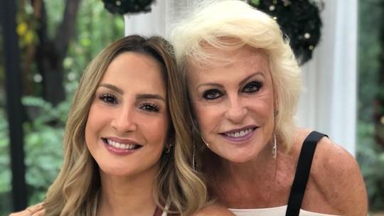 Claudia Leitte bate papo com Ana Maria Braga no 'Mais Você'