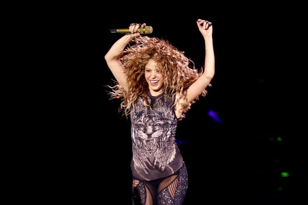 Shakira se apresenta em São Paulo (Foto: Manuela Scarpa/BrazilNews)