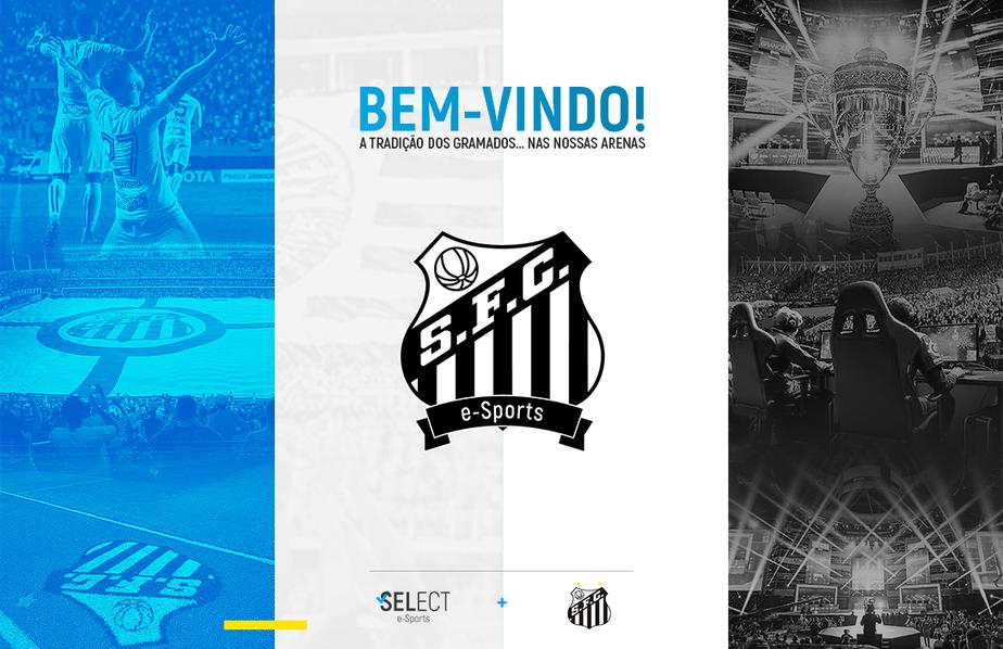 2765d550a289f ... Santos anuncia entrada no cenário de esportes eletrônicos