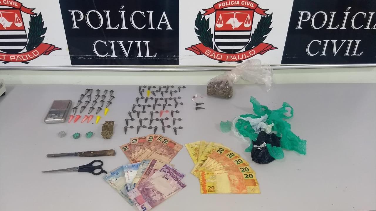 Homens são presos suspeitos de tráfico de drogas em Jaú - Radio Evangelho Gospel