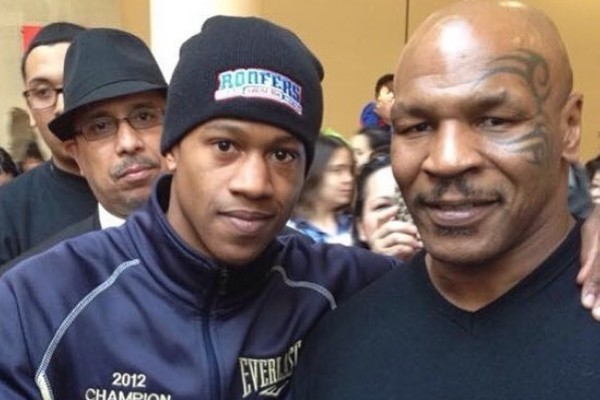 Patrick Day e Mike Tyson (Foto: Instagram)