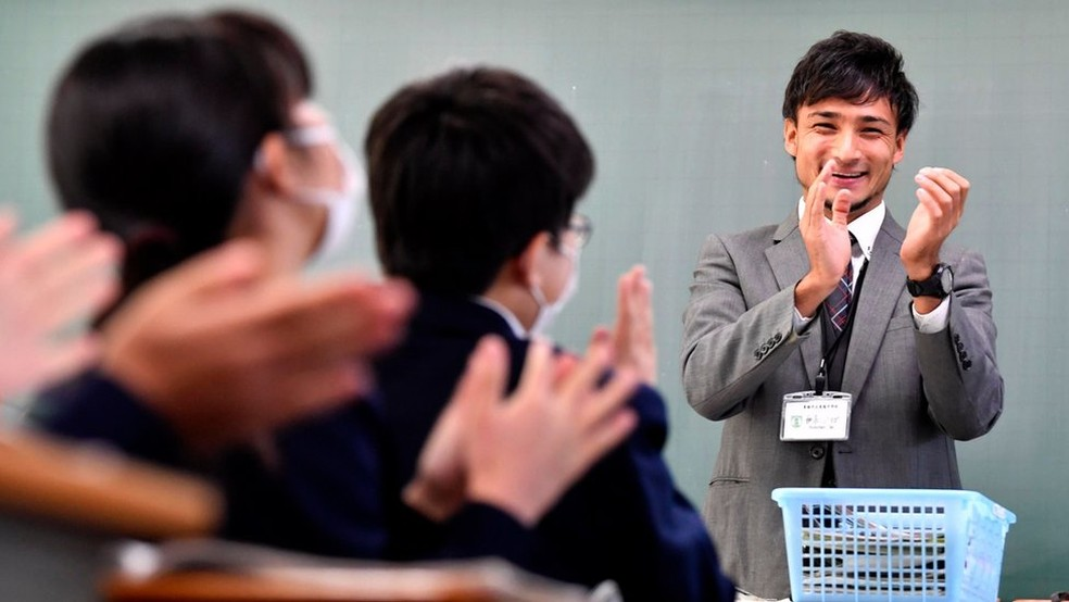 Rodrigo Igi foi um dos primeiros brasileiros a se tornar professor no Japão — Foto: Acervo pessoal