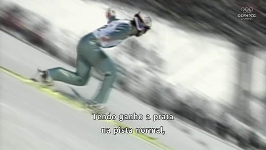 """Revolução japonesa: salto perfeito de Funaki consagra técnica moderna com esquis em """"V"""""""