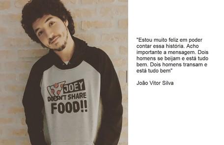 João Vitor Silva voltará a viver Bruno, que desta vez terá um romance com outro homem Reprodução