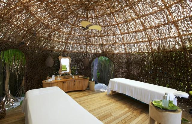 O spa do Six Senses Lamuu (Foto: divulgação)