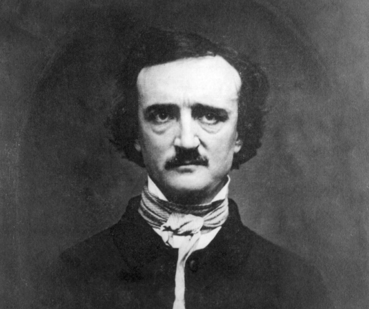 Retrato de Edgar Allan Poe (Foto: Wikimedia Commons)