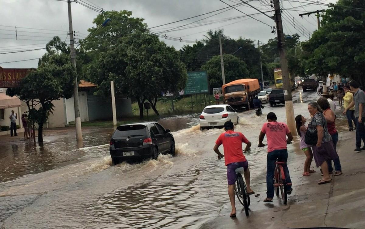 Com chuvas dos últimos dias, rios de MS atingem nível de alerta para enchente