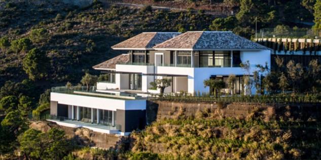 Casa de Cristiano Ronaldo, em Málaga (Foto: Divulgação)