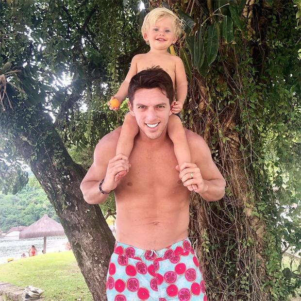 Amaury Nunes e Enrico Bacchi (Foto: Reprodução / Instagram)