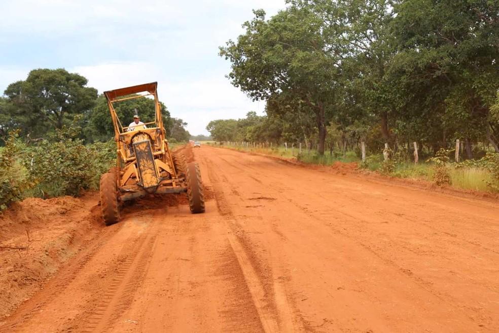 Até que as obras fiquem prontas, motoristas terão que passar por desvio (Foto: Ademir dos Anjos/Governo do Estado)