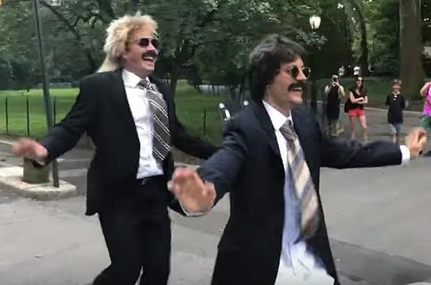 Jimmy Fallon e Justin Bieber (Foto: Reprodução/YouTube)